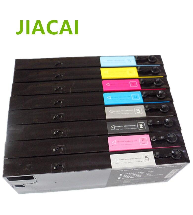Лидер продаж 1 компл. 300 мл/уп. 4800 УФ многоразового картридж для Epson Стилусы pro 4800 4880C 4000 7600 9600 4400 4450 принтера