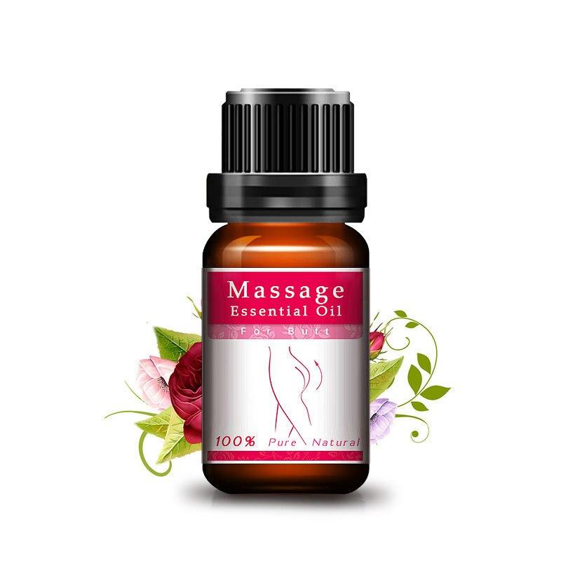 Hanche ascenseur bout à bout élargissement 100% Pure huile de parfum de Rose naturelle pour les fesses vers le haut huile de Massage soins du corps huile essentielle bout à bout TSLM1 5