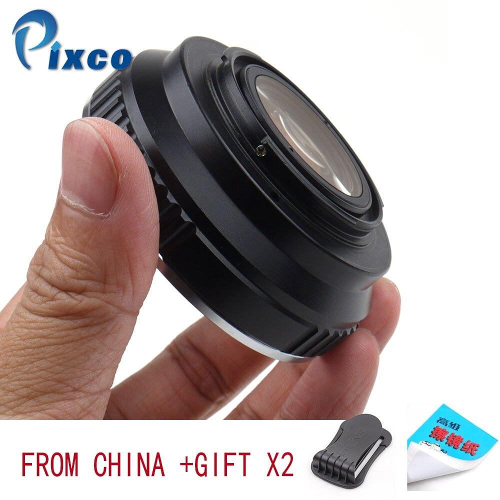 EOS FX Pixco スピード焦点減速レンズキヤノン Eos EF に適合させるため富士フイルム × カメラ  グループ上の 家電製品 からの レンズアダプタ の中 1