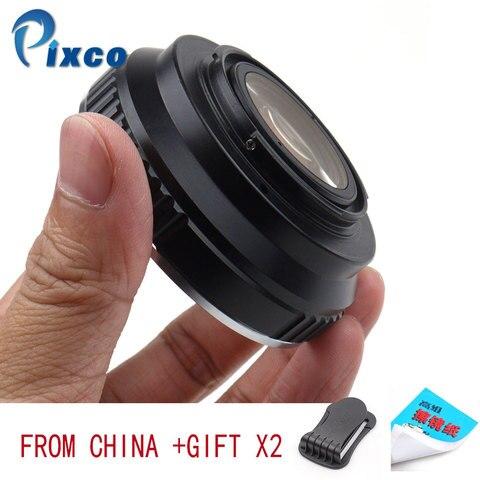 Adaptador de Lente Pixco para Eos-fx Terno para Canon Lens para Terno para Fujifilm Reforço Velocidade Redutor Focal ef x Câmera Eos