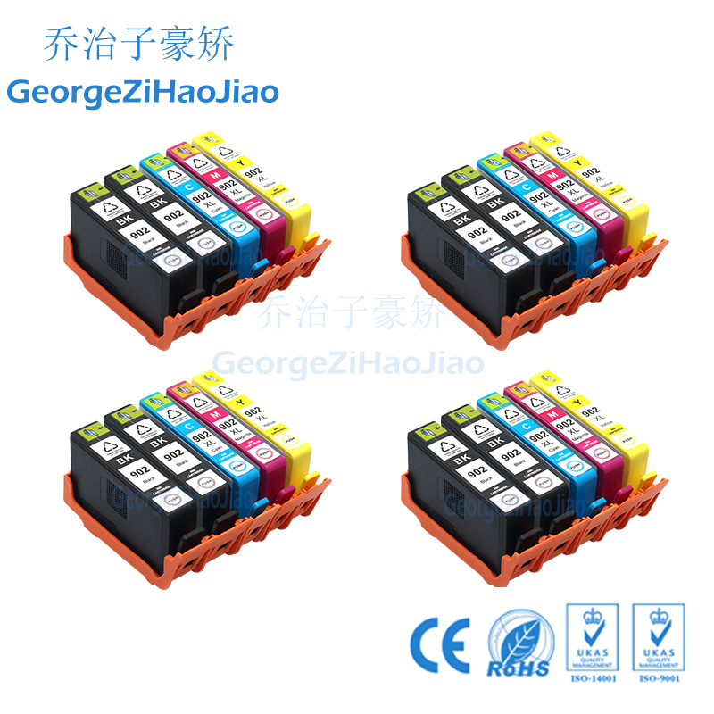 20 PCS 902XL for HP902 902 Compatible Ink Cartridges for HP Printers Officejet Pro 6950 6958 6954 6960 6962 PRINTER20 PCS 902XL for HP902 902 Compatible Ink Cartridges for HP Printers Officejet Pro 6950 6958 6954 6960 6962 PRINTER