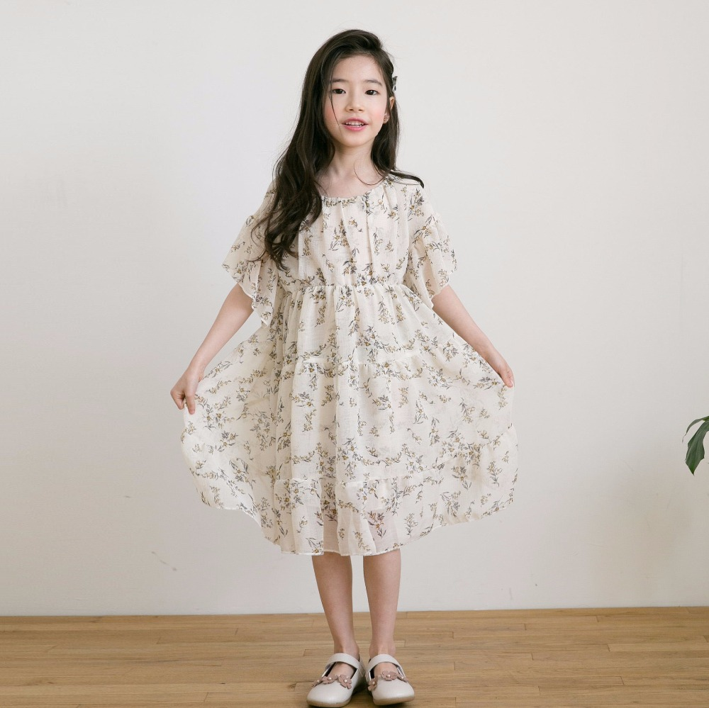 Flower Girl Dresses 2018 Summer Kids Dresses Floral Children Clothing Princess Party Dress for Girls Chiffon Clothes Vestidos girl teenager party dress flower princess dress girl clothing for girls clothes dresses spring summer custumes