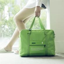 luggage men travel bags 32L Foldable women bag male large capacity portable carry on suitcase nylon bolsas