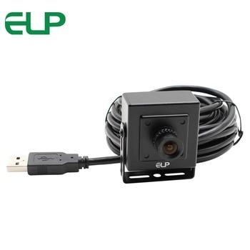 ELP бренд 1,0 мегапиксельная 720P Внутренняя cctv mjpeg usb2.0 vga cmos ov9712 мини широкоугольная камера usb uvc с 2,1 мм объективом
