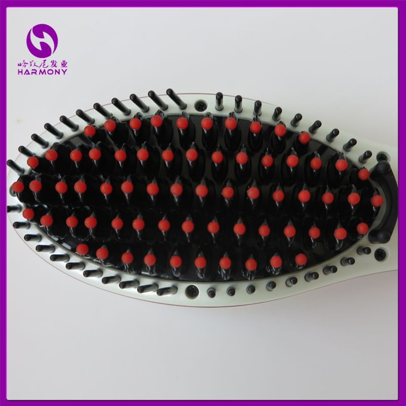 Electric Straightener Brush with LCD Display 3