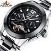 AESOP Fashion Men Watch Men Automatic Mechanical Black Ceramic Wrist Watches Wristwatch Male Clock Relogio Masculino