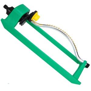 Image 3 - 18Jets Oscillating Lawn Water Sprinkler Watering Garden Pipe Hose Water Flow