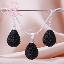 Shamballa Sets Crystal Rhinestone Jewelry Popular Worldwide Crystal Shamballa Sets bnwz BS030