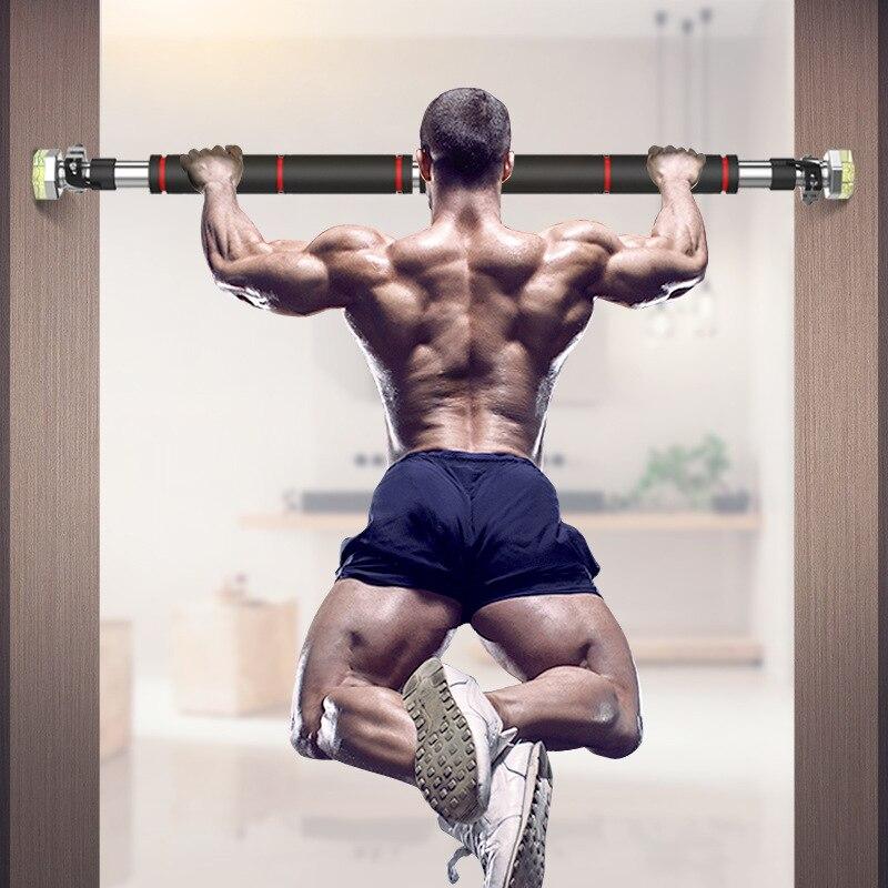 Barres horizontales de porte en acier 200 kg réglable à la maison Gym exercice d'entraînement Force du membre supérieur Muscles pectoraux poignet Force bras