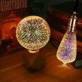 E27 110 В 220 В 3D лампа, Звездный фейерверк, эффект, Ночной светильник, 3D настольная лампа, декоративная лампа, прикроватный Домашний Светильник, ...