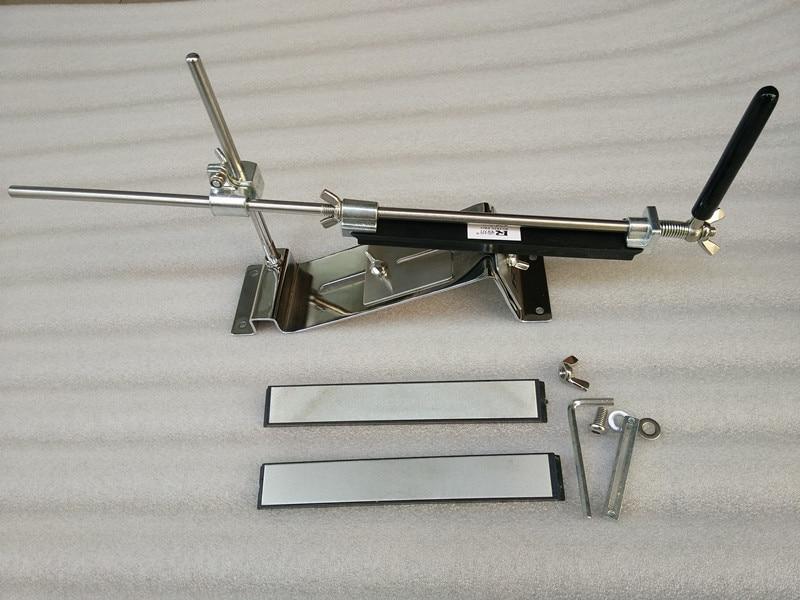 lansky stainless steel professional kitchen knife sharpener system amolador de faca aiguiseurs de couteaux with