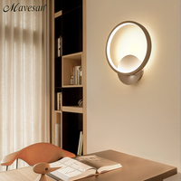 White Acrylic Creative Modern Led Wall Light For Living Room Beside Room Bedroom Lamps LED Sconce Bathroom Wall Lamp LED Lustres