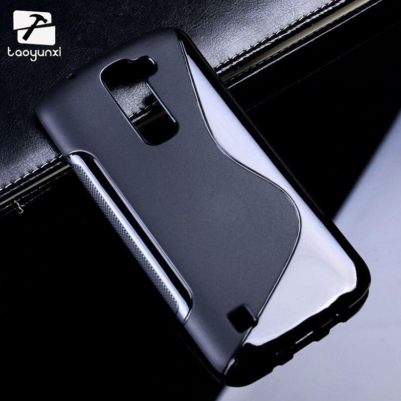 TAOYUNXI Soft S-Line TPU Phone Cases For LG K7 Stylus2 V20 F800 X Cam K580 Screen Ray Zone X190 LS675 Plus F720 K500DS Cover Bag