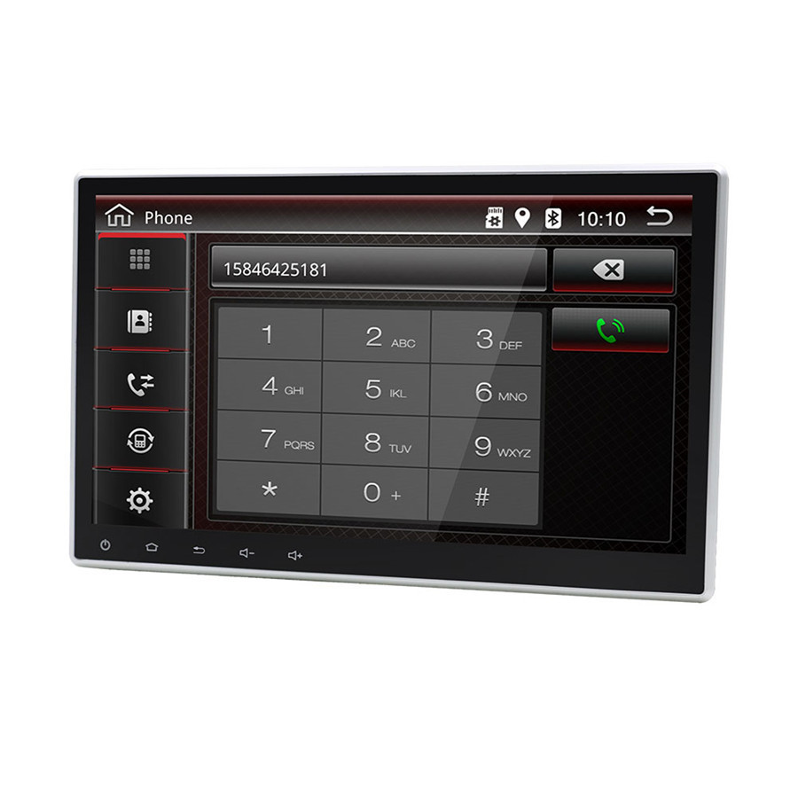 "1Din 10.1/"" 8 core WIFI 3G//4G Car Stereo Radio GPS Wifi 3G 4G BT DAB Mirror Link"