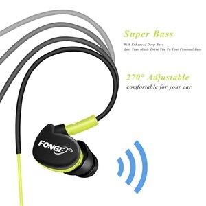 Image 2 - 3.5mm סטריאו אוזניות ספורט ריצת אוזניות סופר בס אוזניות IPX5 עמיד למים HIFI דיבורית אוזניות עם מיקרופון עבור Xiaomi