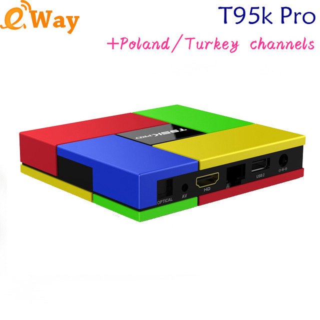 2G 16G T95K pro Indian IPTV BOX support arabic Germany Live TV Channels with English French channels internet TV box Android box