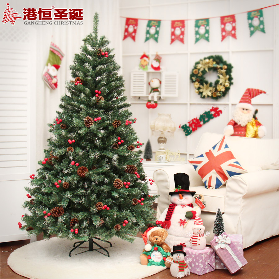 hong kong hang christmas tree decoration package 18 m thick pvc red berries hanging branches type encryption type christmas 72 in party masks from home - Red Berry Christmas Tree Decorations