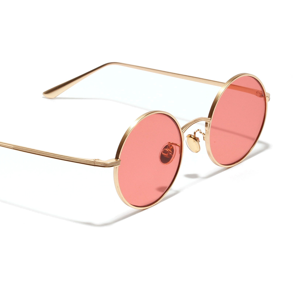 a85d8f05fb Kachawoo small round sunglasses women gold metal frame yellow red circle  sun glasses men retro eyeglasses vintage summer 2018-in Sunglasses from  Apparel ...