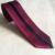 De alta Calidad Flaco Corbata Corbatas Populares Diseño Delgado Rojo con Rayas Negro Dots