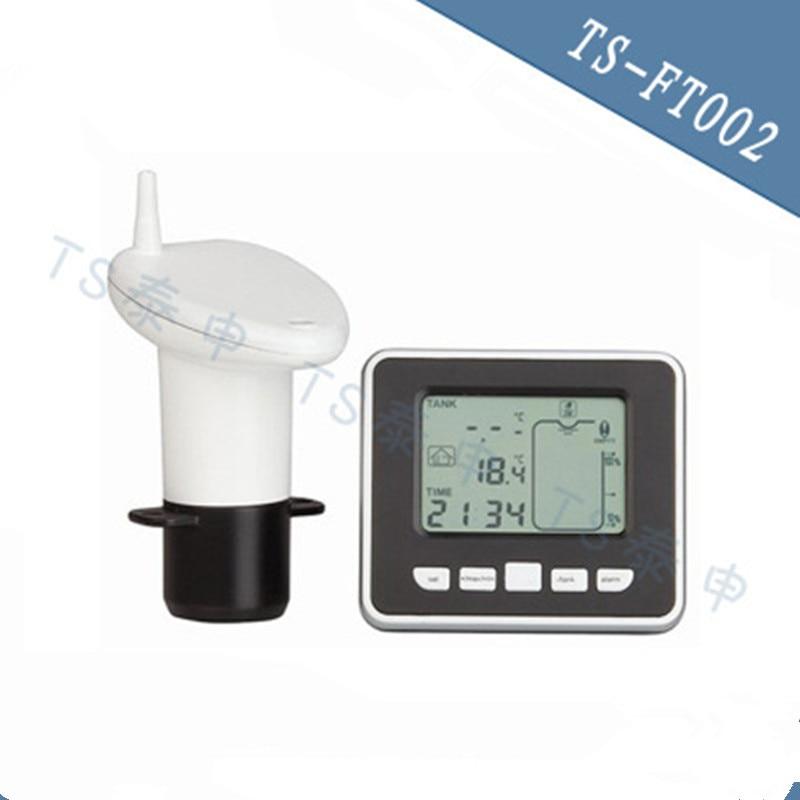 Wireless Ultrasonic Tank Liquid Level Meter with Temperature Thermo Sensor ultrasonic Water Level Gauge 0 5M