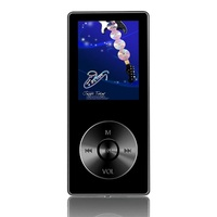 K9 MP3 Music Player 8GB Alloy Sports Speaker Can Play 60h Lossless HiFi Voice Recorder FM