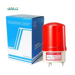 Lámpara intermitente estroboscópico LED para exteriores, luz de alarma intermitente, baliza de persiana para motores de apertura de puerta de emergencia (sin sonido)