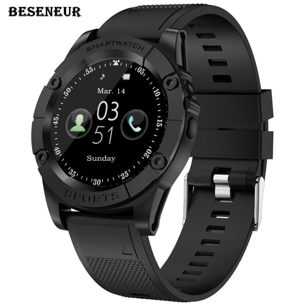 Beseneur SW98 Astuto Della Vigilanza Degli Uomini di Carta di Sostegno SIM Pedometro della Macchina Fotografica di Bluetooth Smartwatch per Android Del Telefono PK DZ09 Y1 A1 Orologio Da Polso