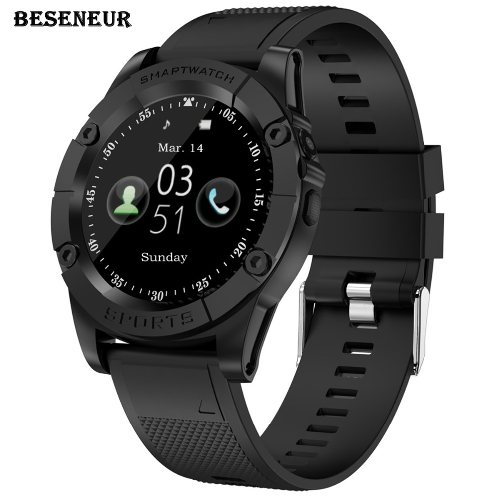 Beseneur SW98 Smart Watch Men Support SIM Card Pedometer Camera Bluetooth Smartwatch for Android Phone PK