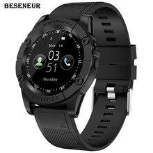 Beseneur SW98 Смарт-часы Для мужчин Поддержка sim-карты шагомер Камера Bluetooth Smartwatch для Android телефон PK DZ09 Y1 A1 наручные часы