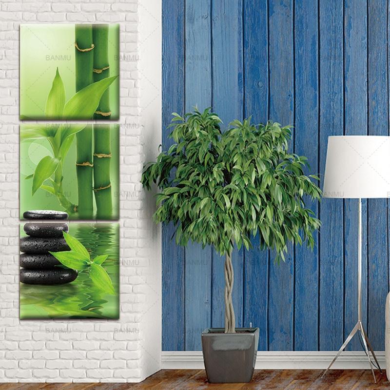 3 панел Wall Art платно боядисване стена - Декор за дома - Снимка 4