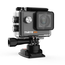 2017 THIEYE I60E WIFI Acción cámara 4 K impermeable HD cámara del deporte al aire libre cámara de vídeo con 40 M Impermeable 2.0 Pulgadas de Pantalla