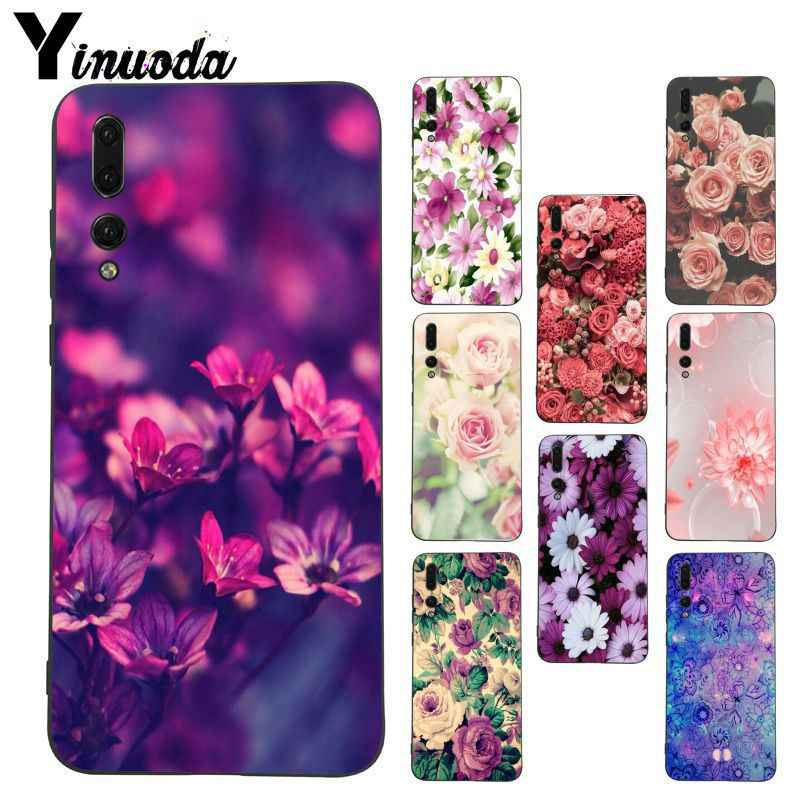 Yinuoda Mandala Palace Flowers Coque Shell Phone Case  for Huawei P20 Lite P10 Plus Mate9 10 Mate10 Lite P20 Pro Honor10 View10