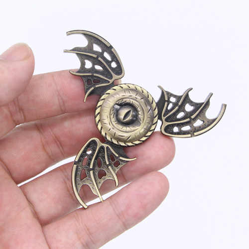 Fidget do Metal Spinner Spinner Game of Thrones Dragon Wings Fidget Mão Dedo Spiner Brinquedos Stress Relief