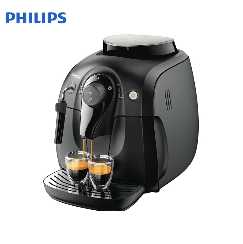 Coffee Maker Philips HD8649/01 / HD8649/51 coffee machine coffee makers maker espresso cappuccino Automatic HD 8649 grain relogio strap black and coffee genuine leather alligator crocodile grain watch band