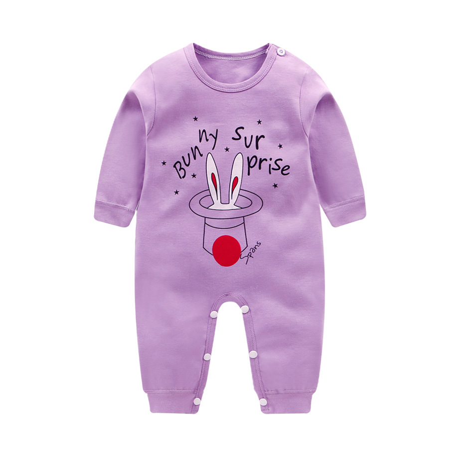 Baby Girls Romper Cotton Spring Long Sleeve Jumpsuit For 2019 Newborn Romper  Baby Boy Girl Clothes Baby Rompers Soft Infant