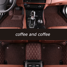 цена на HeXinYan Custom Car Floor Mats for Dodge caliber aittitude journey Journey caravan auto styling car accessories
