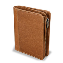 Men genuine leather wallet  purse Standard luxury wallets designer famous brand man 2019