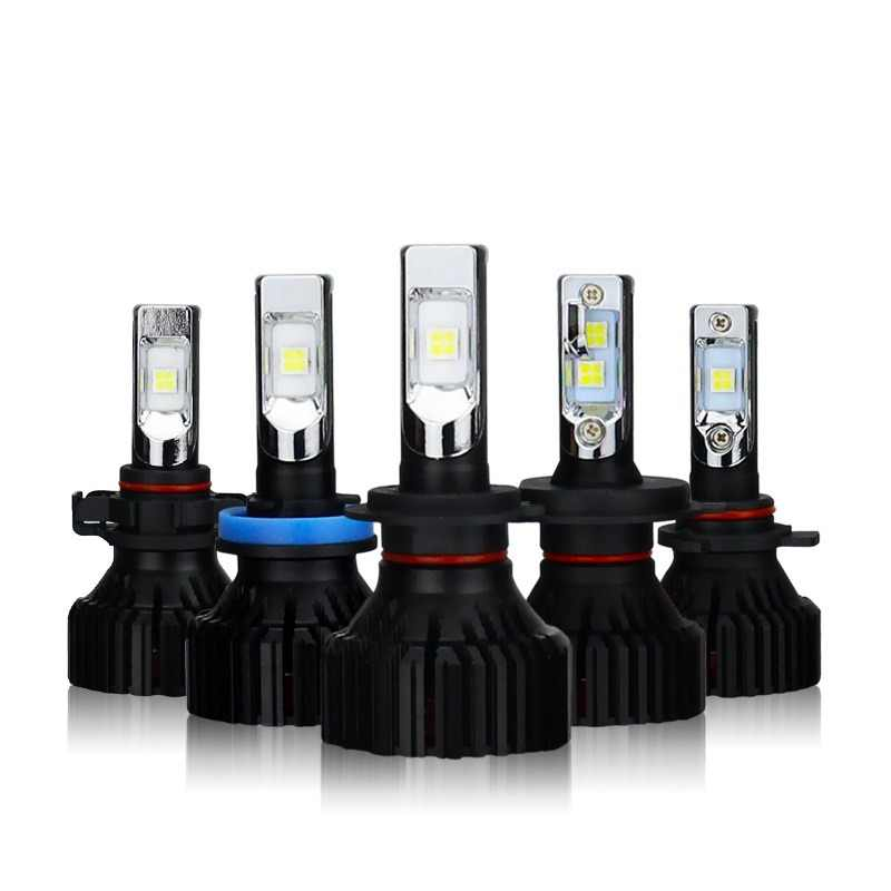 2x H4 H7 H11 H8 9005/HB3 9006/HB4 9012 HIR2 H16 EU Car LED Headlight Bulb CREE Chip XHP50 Auto Headlamp LED Light 6000K