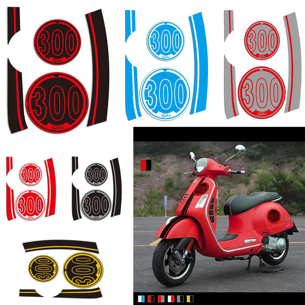 Kodaskin 2d scooter body side emblem sticker decal for vespa