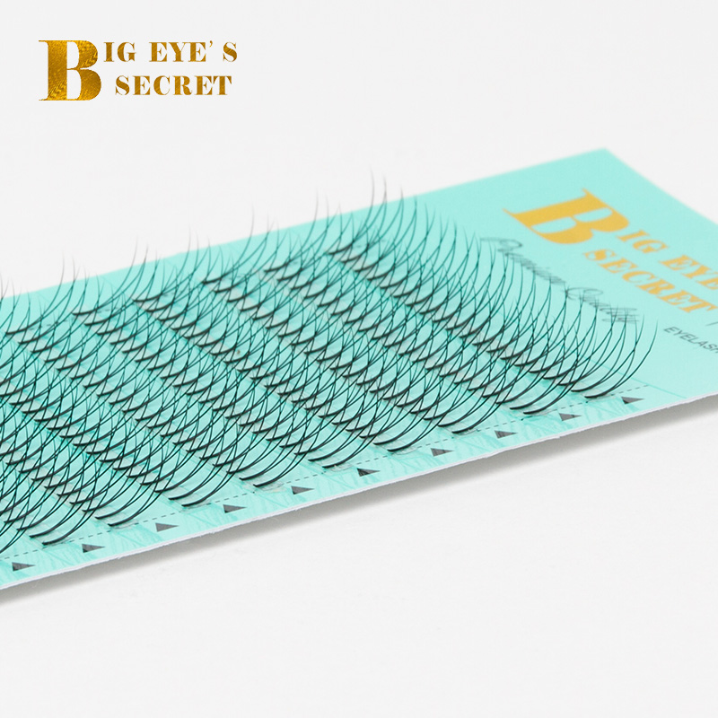 Wholesale Price 2D Premade Volume FANS Eyelashes Extension Luxury Handmade Russian Volume Lashes Free Shipping 21pcs set stylish density lengthening soft handmade fabulously false eyelashes drop shipping wholesale