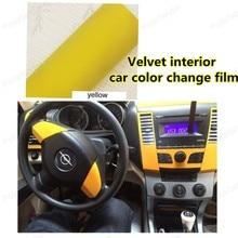 152*20cm  Velvet Vinyl Film Car Wrap Sheet Roll Film tools car Sticker Decal car styling