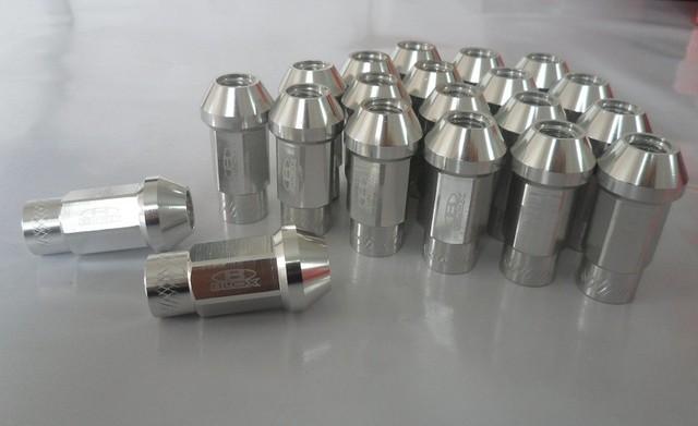 Atacado Blox Estilo 7075 Alumínio Lug Nuts Para 1996-2007 Dodge Caravan M12x1.5 comprimento estendido abertos porcas leve