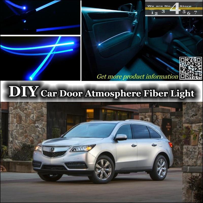 For Acura Mdx Interior Ambient Light Tuning Atmosphere Fiber Optic Band Lights Inside Door Panel Illumination Not El