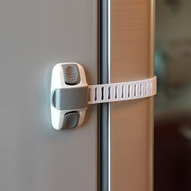 EUDEMON cerradura del gabinete de seguridad la protección del bebé de los niños cerraduras de seguridad de la seguridad del bebé de cajón pestillos para frigoríficos