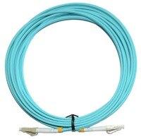 20 м LC-LC дуплекс 10 GIGABIT 50/125 Многомодовые оптоволоконные кабель OM3 AQUA 10 ГБ, патч-корд джемпер