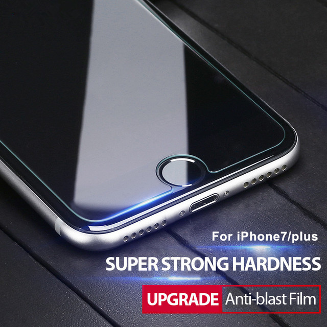 0.28mm 9H tempered glass For iphone 4s 5 5s SE 6 6s plus screen protector film for iphone 7 plus glass screen protective case