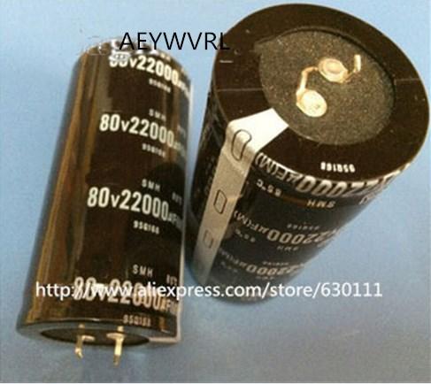 2PCS 6800uf 80v Nichicon GU 35x45mm 80V6800uF Snap-in PSU Capacitor