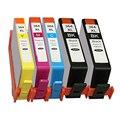 5x HP 364 XL надколотый картридж для Photosmart DeskJet 3070A 3520 Photosmart 5510 5520 6510 6520 7510 7520 принтера