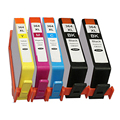 5x HP 364 XL CHIPPED Ink Cartridge for Photosmart DeskJet 3070A 3520 Photosmart 5510 5520 6510 6520 7510 7520 Printer