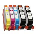 5x HP 364 XL lascado cartucho de tinta para Photosmart DeskJet 3070A 3520 Photosmart 5510 5520 6510 6520 7510 7520 de impressora